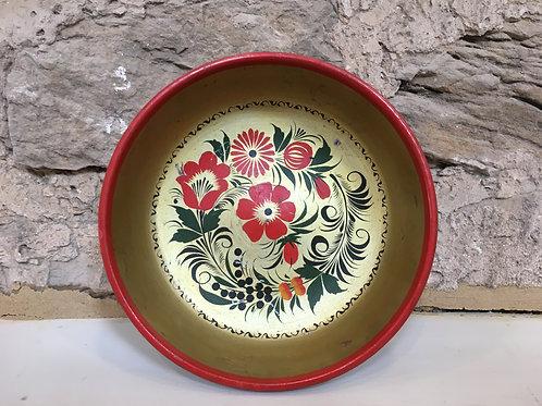 Khohloma wooden bowl - USSR