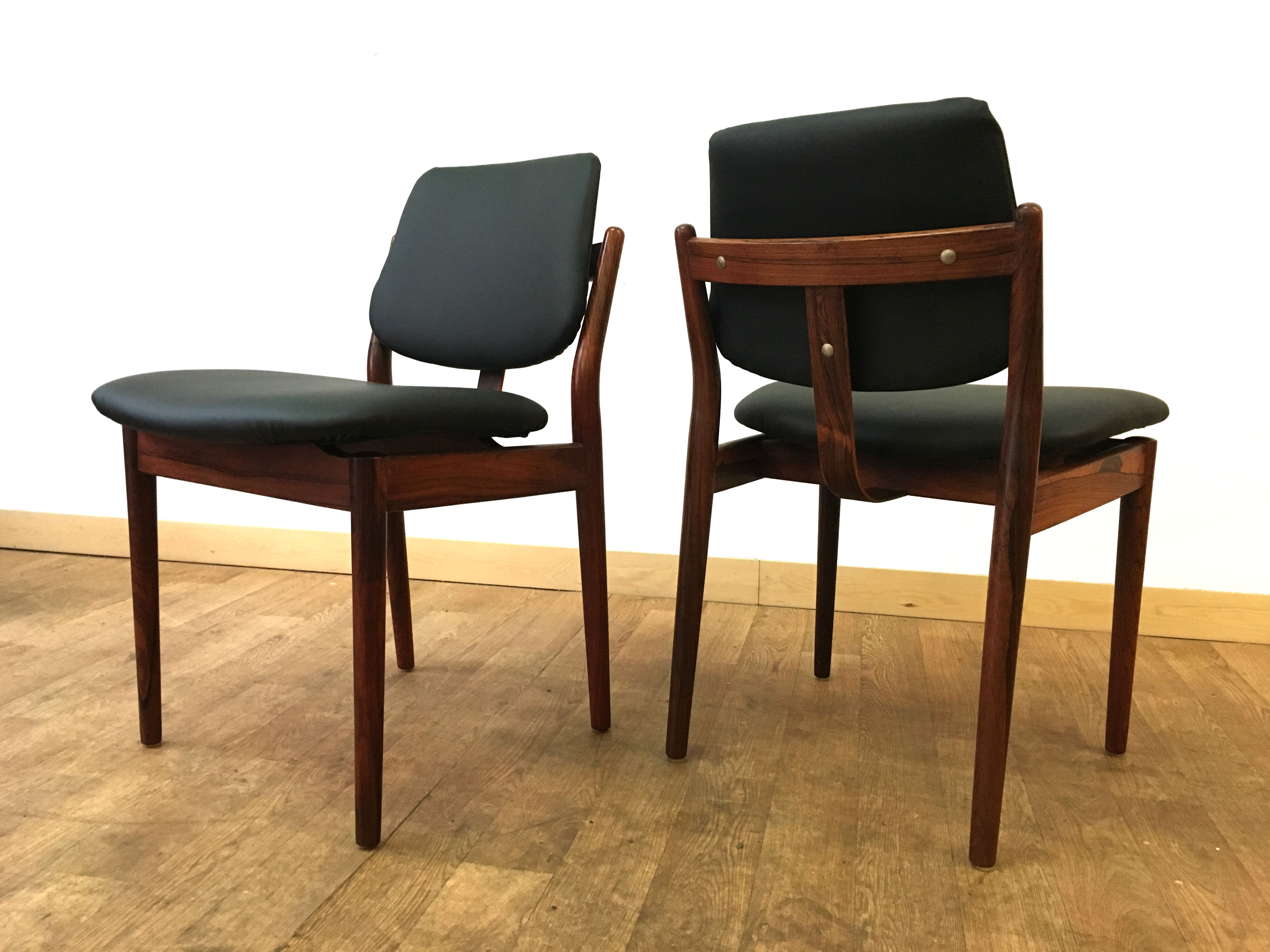 Arne Vodder Rosewood Dining Chairs