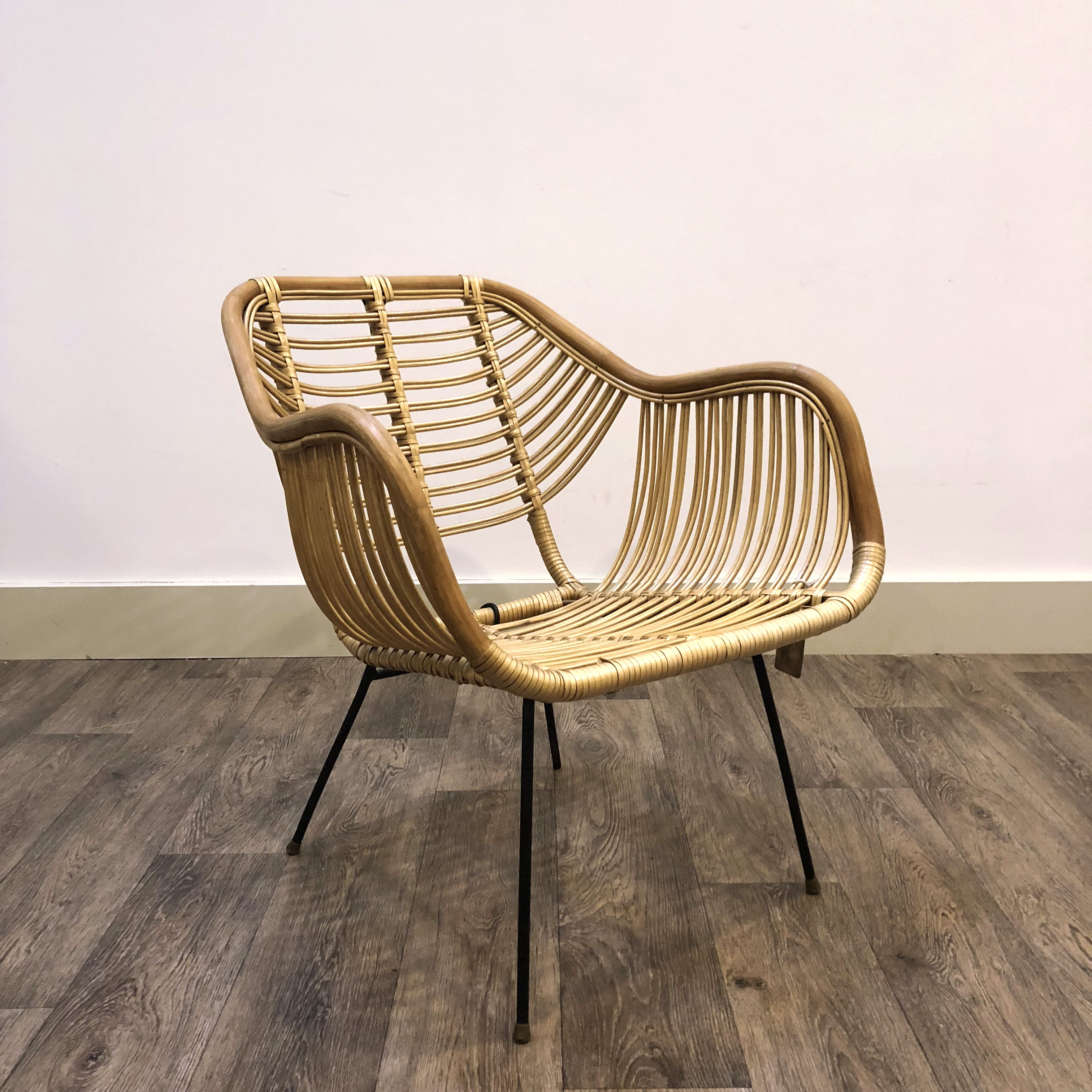 French Bamboo chair