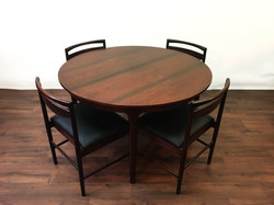 Rosewood McIntosh Table Chairs