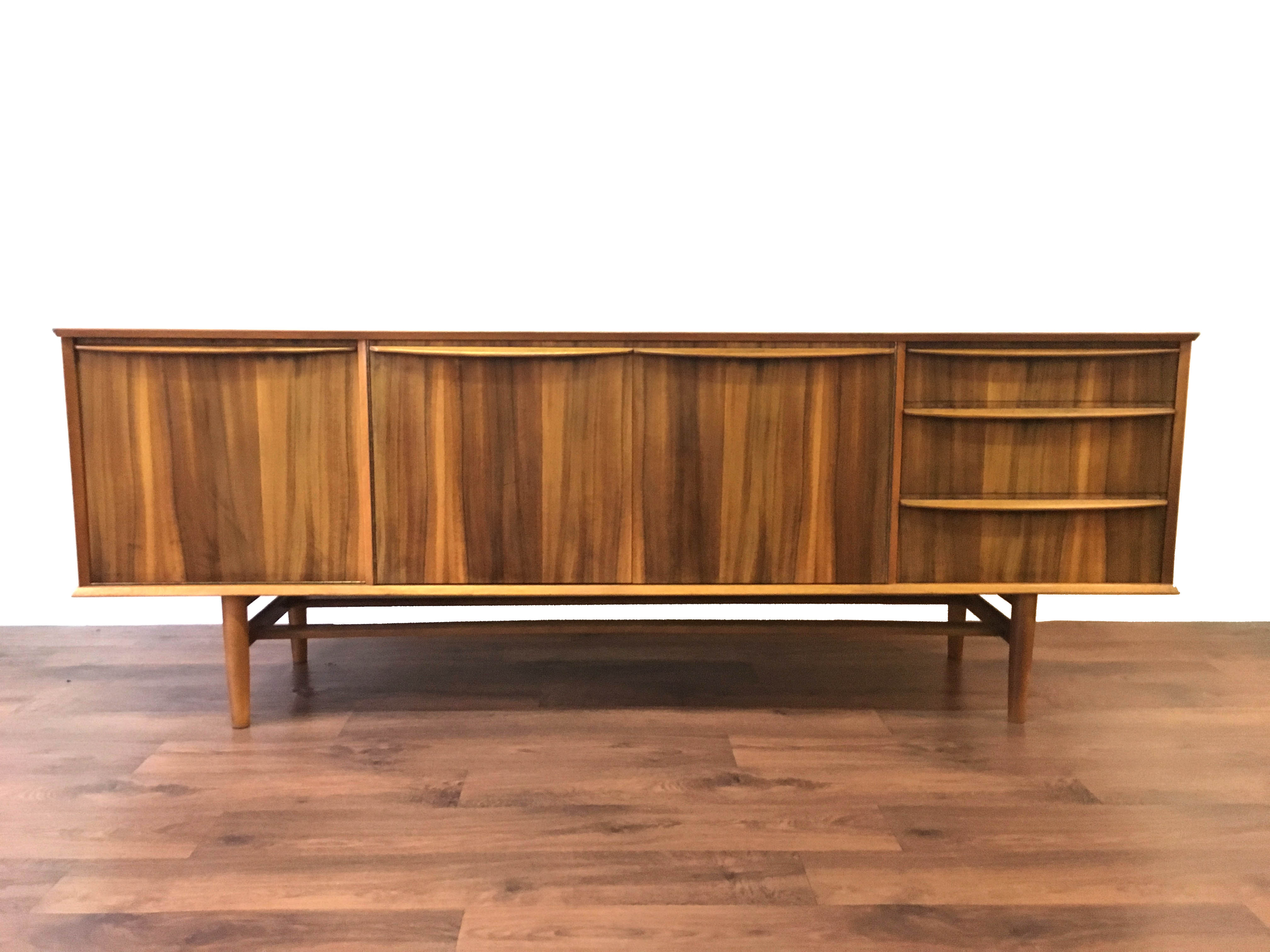 Morris of Glasgow Sideboard Walnut