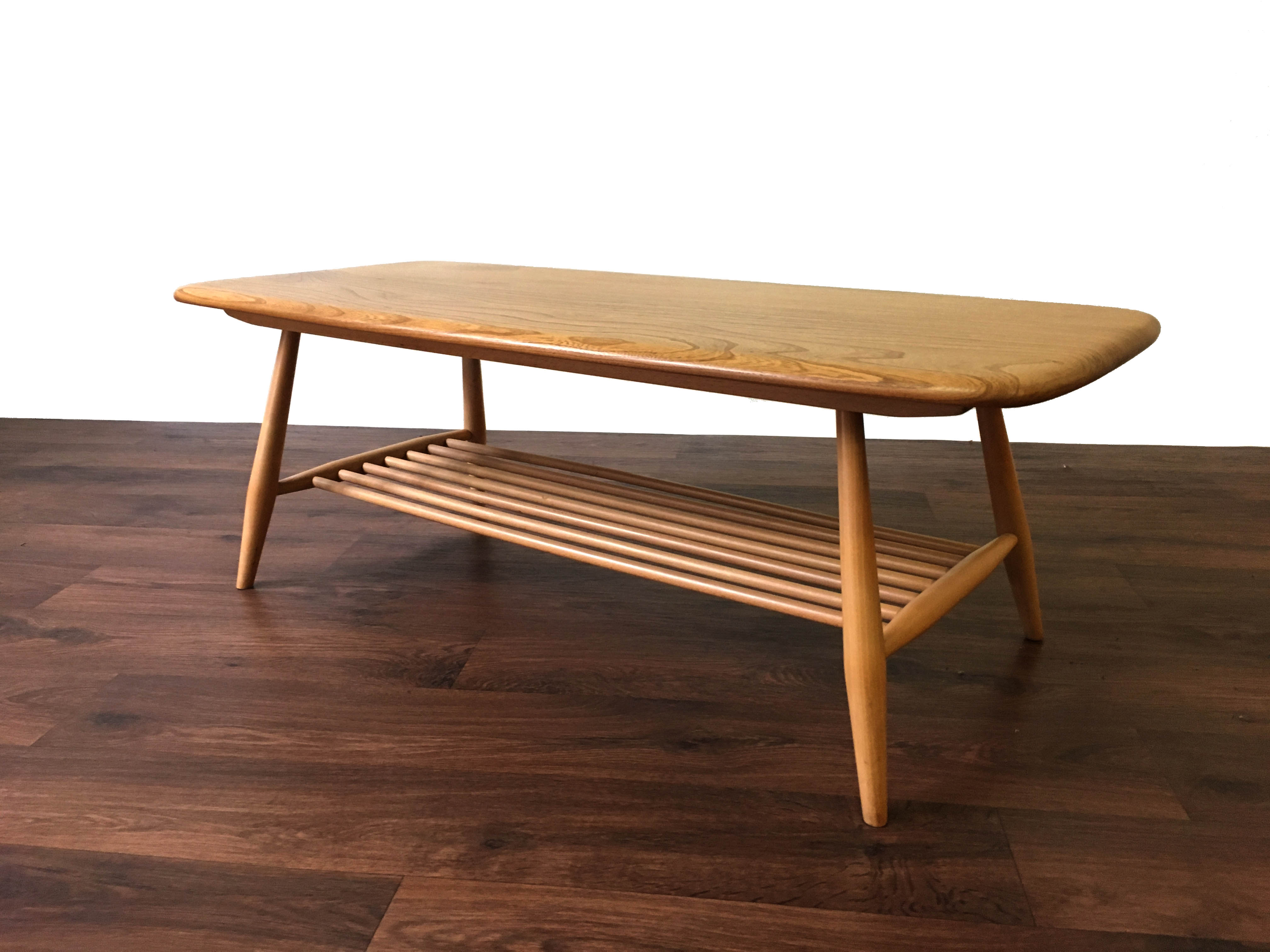 Ercol Blond Coffee Table