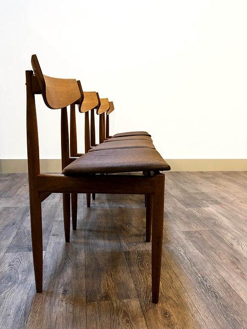IB Kofod Larsen Dining Chairs