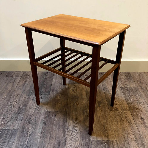 Teak 1960's Side Table