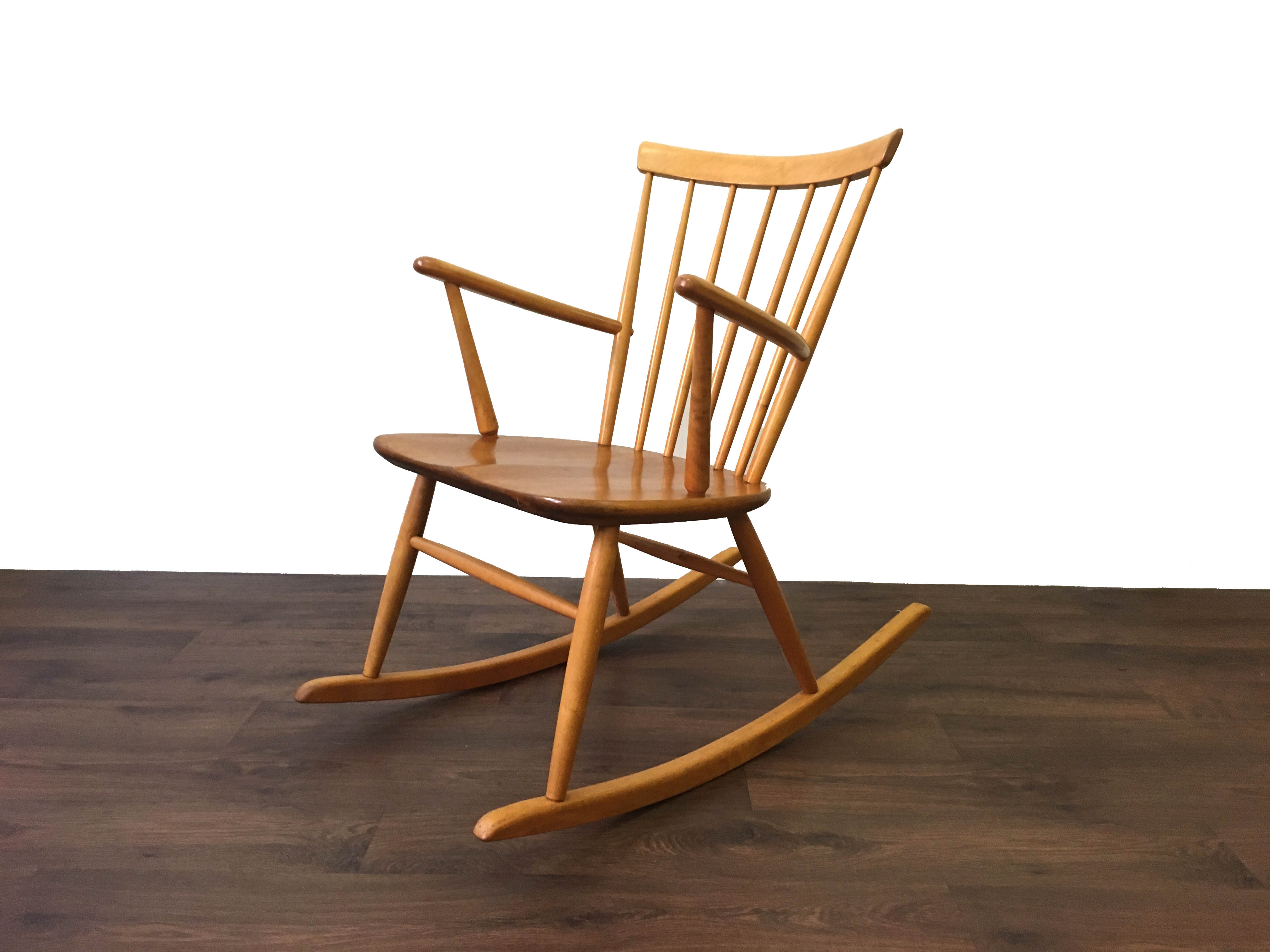 Roland Rainer Rocking Chair Hagafors