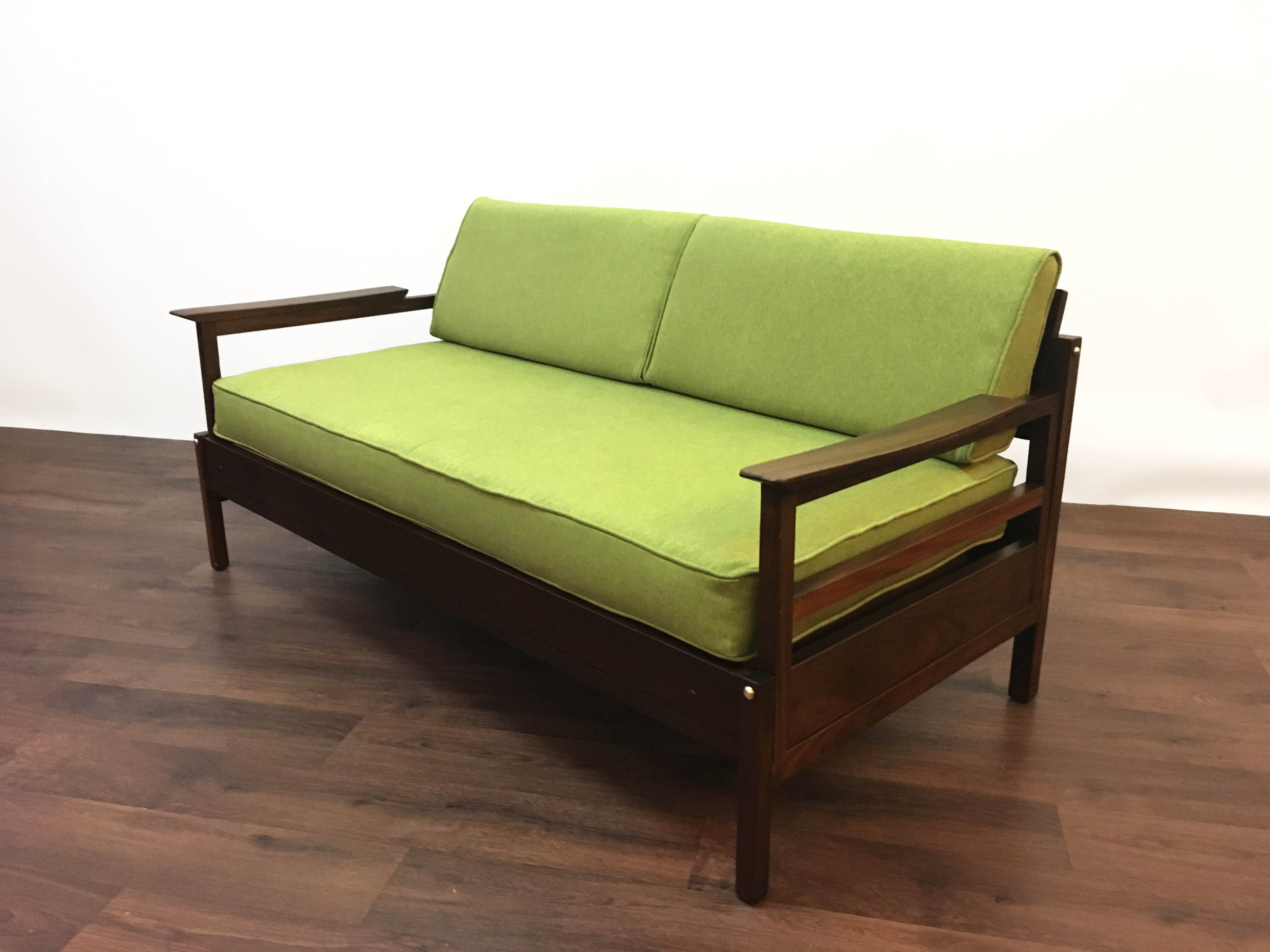 Swedish Two Seater Sofa Daybed