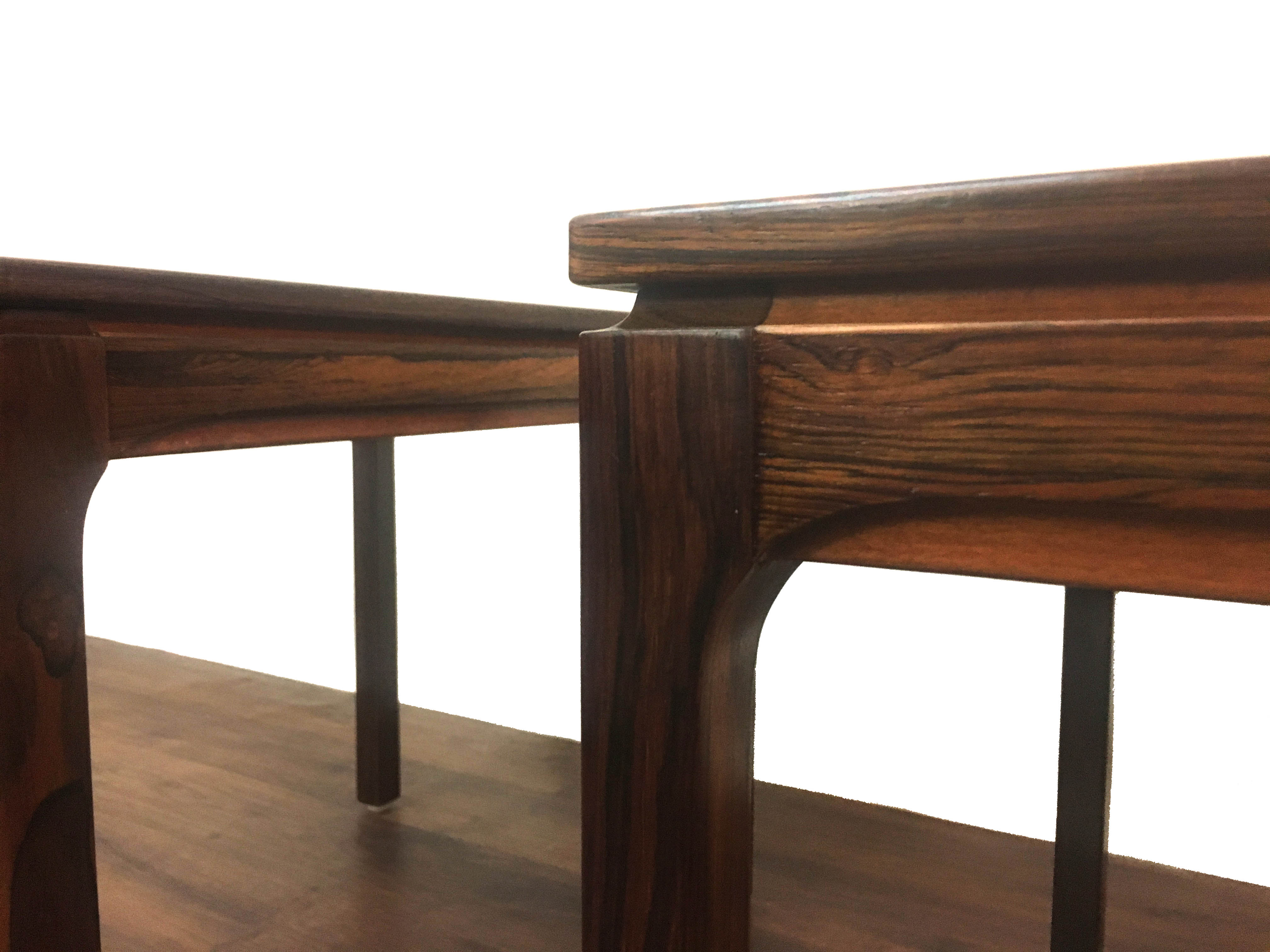 Rosewood Swedish Side Tables