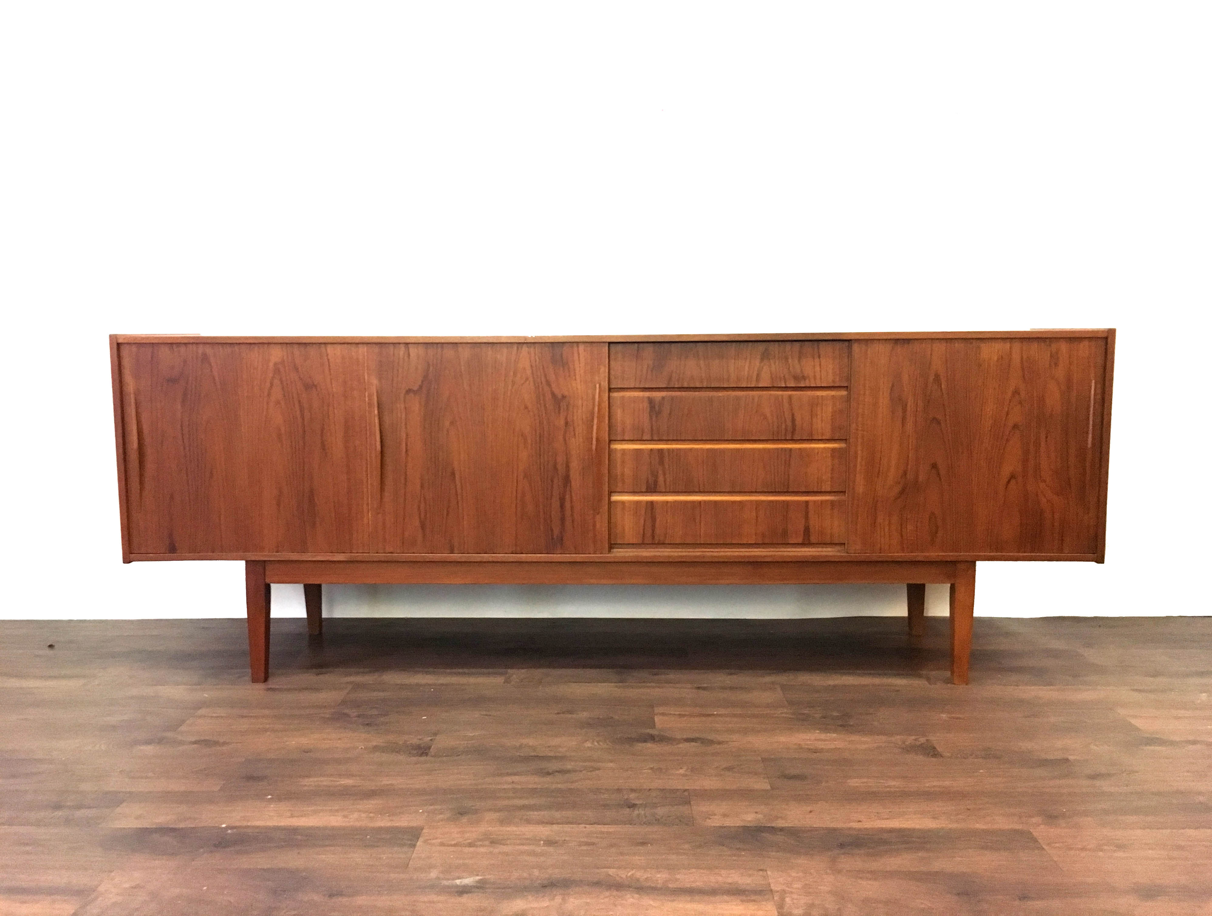 Danish Rosewood Long Sideboard