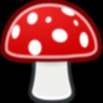 mushrooms-clipart-transparent-background