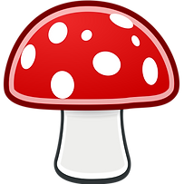 mushrooms-clipart-transparent-background