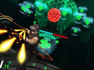 נקודת מבט מרגשת של משחקי מחשב משולבים עם מציאות מדומה