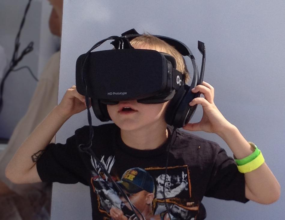 מציאות מדומה לילדים