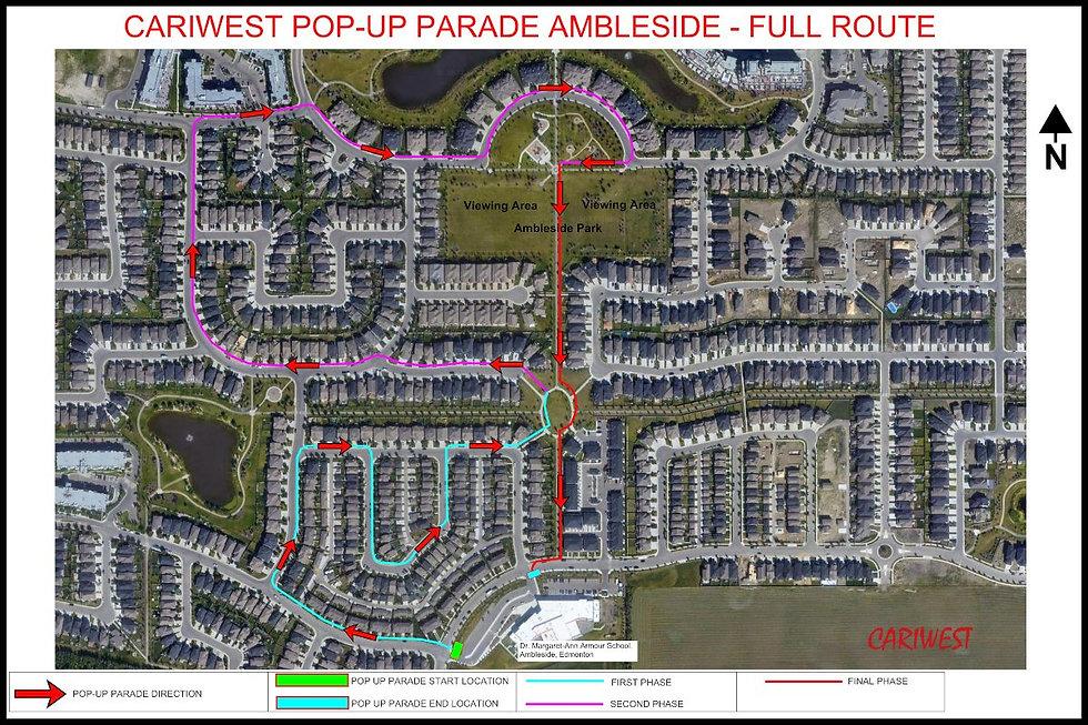 Cariwest Parade route.jpg