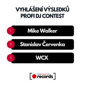 Profi DJ contest zná své vítěze
