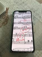 pianiste, partitions