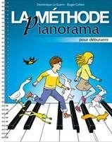 la méthode pianorama pour débutant