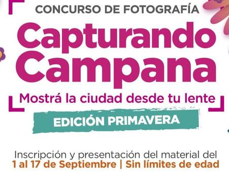 """Se lanza la edición primavera del concurso de fotografía """"Capturando Campana"""""""