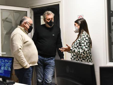 """Elisa Abella: """"El Municipio sigue invirtiendo para que los vecinos vivan cada vez más seguros"""""""