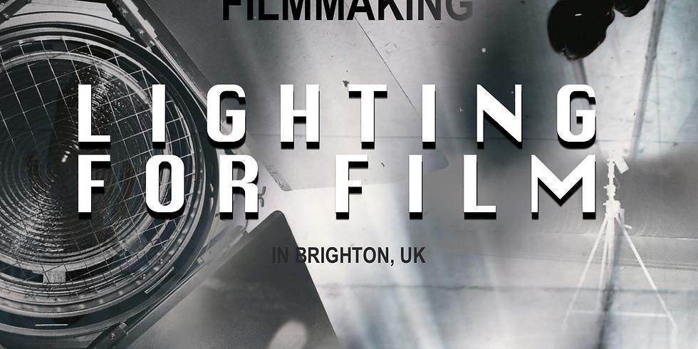 "Lighting for Film ""Intro Filmmaking Series"" workshop"
