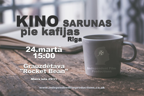 Coffee Shop Film Talk [March] Riga