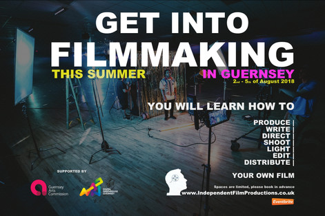 Get Into Filmmaking - Film Course in Guernsey