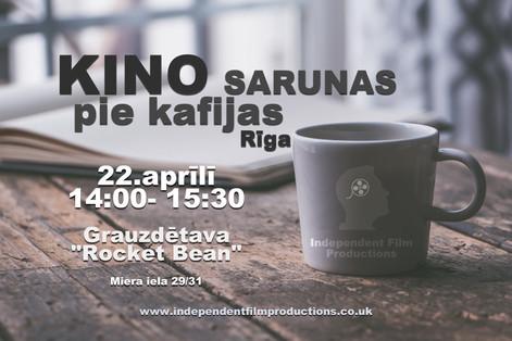 Coffee Shop Film Talk [April] Riga