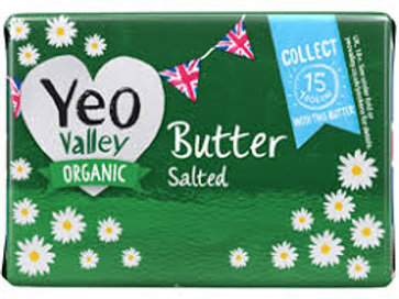Yeo Valley Organic Salted Butter 200g