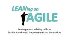 Leaning on Agile