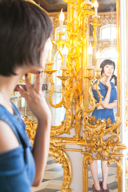 In Catherine palace