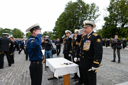 Выпуск офицеров в Кронштадте