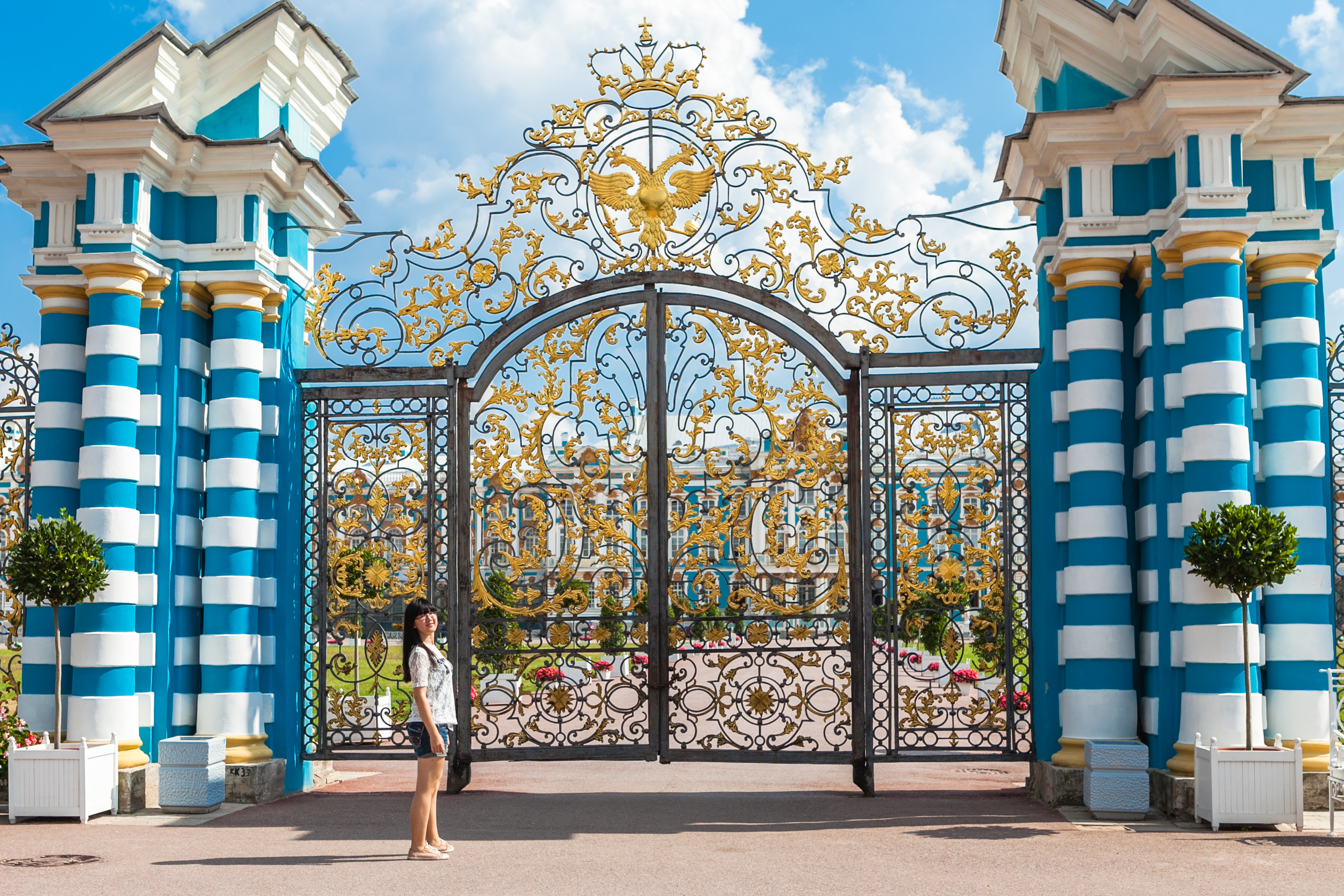 Catherine Palace gate