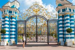 Catherine Palace gate