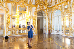 Golden Hall in Catherine Palace
