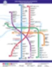 St. Petersburg subway map