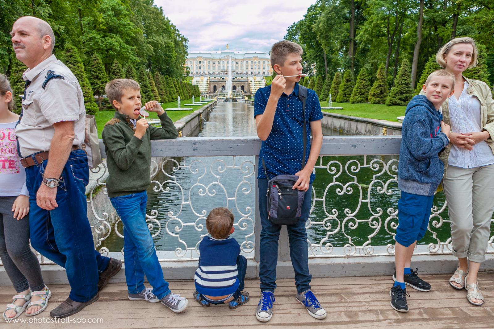 PeterhofФотоэкскурсия в Петергофе