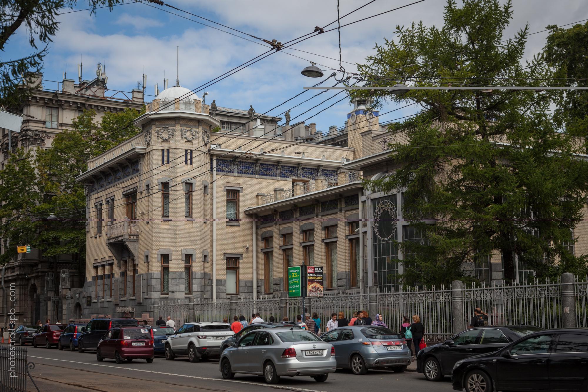 экскурсия по Петроградке