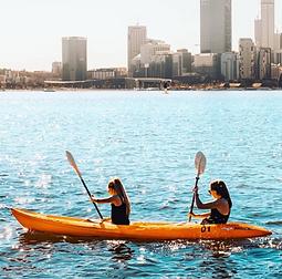 Double Kayaking Swan River