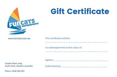 Funcats Gift Certificate