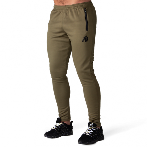 Gorilla Wear Ballinger Track Pants - Army Green/Black