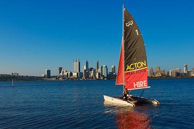 Sailing Perth City