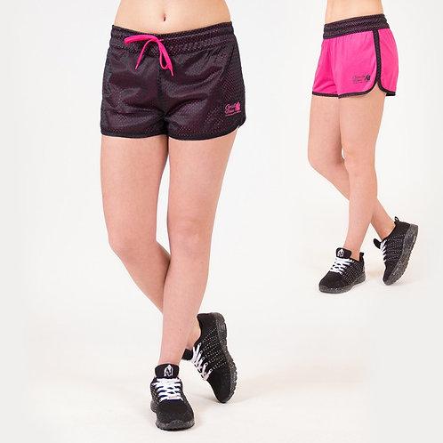 Gorilla Wear Madison Reversible Shorts - Black/Pink
