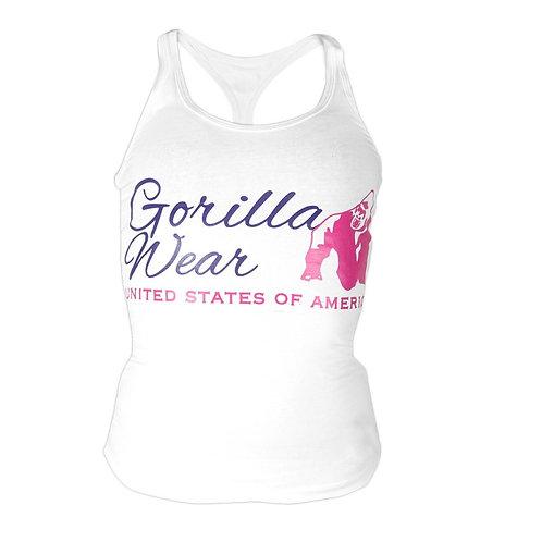 Gorilla Wear Women's Classic Tank Top - White