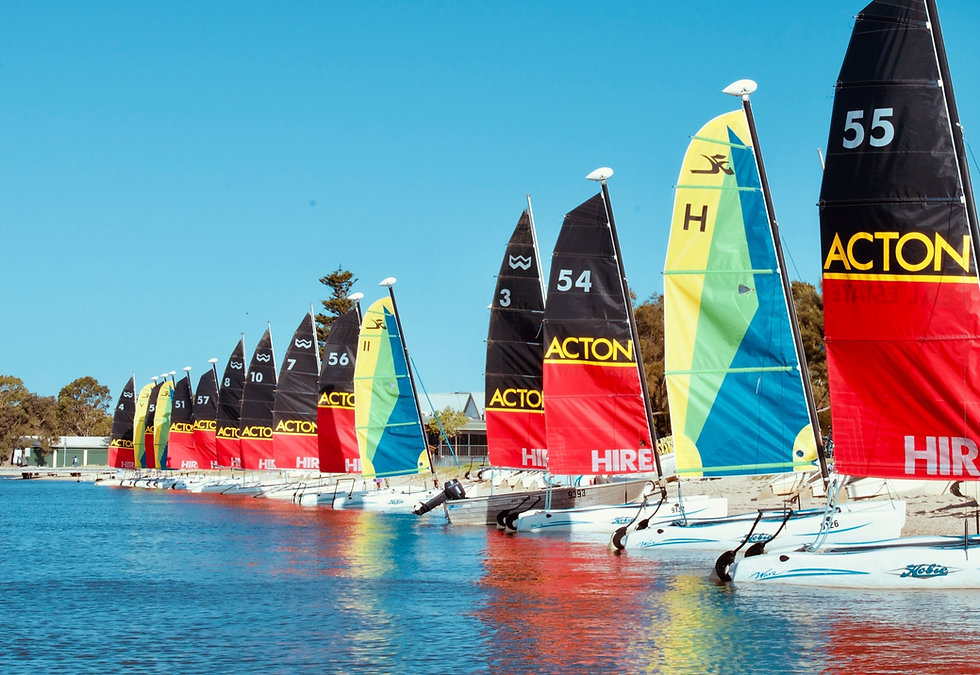 Sail boats Funcats Watersports