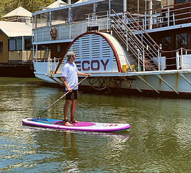 Stand Up Paddle Boarding on Swan River
