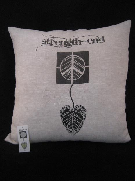 Logo_Stength-end Pillow