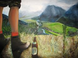 Berge und Bier