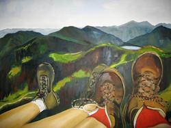 Berge und Beine