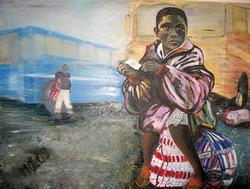 Verlassen in Süd-Afrika