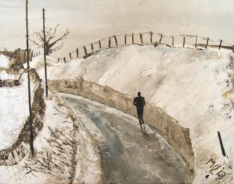 England im Schnee