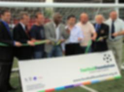 Ricky Hill, Kingsley Black, Football Foundation, Grant, HTCFC
